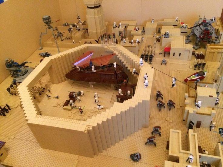 Lego Star Wars Base Great Tatooine Mos Eisley Cantina MOC 75052 Lego Starwars MOC Lego Star
