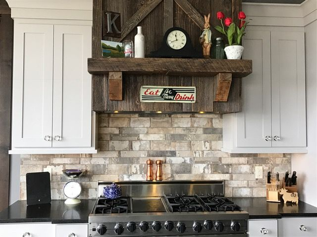 Kitchen Brick Backsplash Backsplashes Pinterest