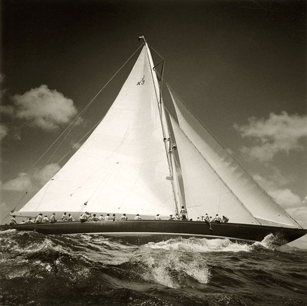 classic wooden sailboats