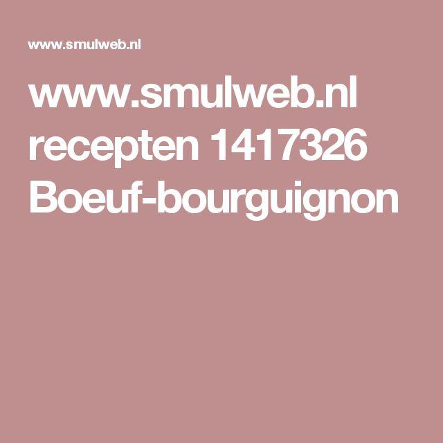 www.smulweb.nl recepten 1417326 Boeuf-bourguignon
