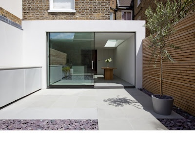 contemporary rear extension
