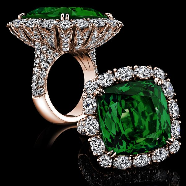 http://rubies.work/0148-ruby-rings/ Robert Procop Exceptional Jewels ~ Colombian Emerald Ring