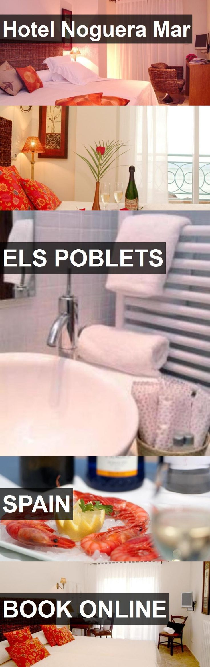 Hotel Hotel Noguera Mar in Els Poblets, Spain. For more information, photos, reviews and best prices please follow the link. #Spain #ElsPoblets #HotelNogueraMar #hotel #travel #vacation
