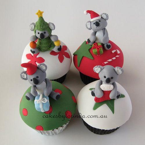 Koala Christmas by Temeraire, via Flickr sooooooooooo cute!!!