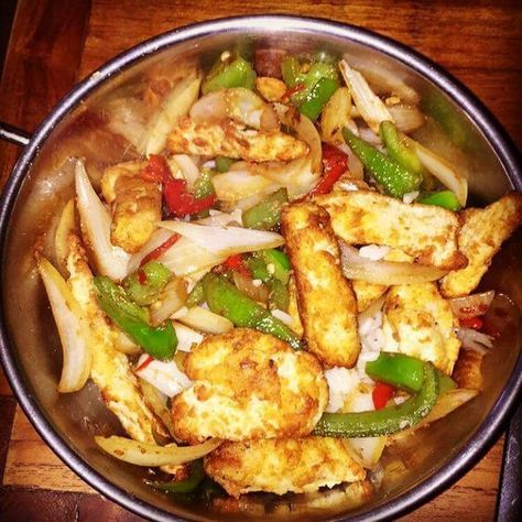 Guilt free Salt and chilli chicken