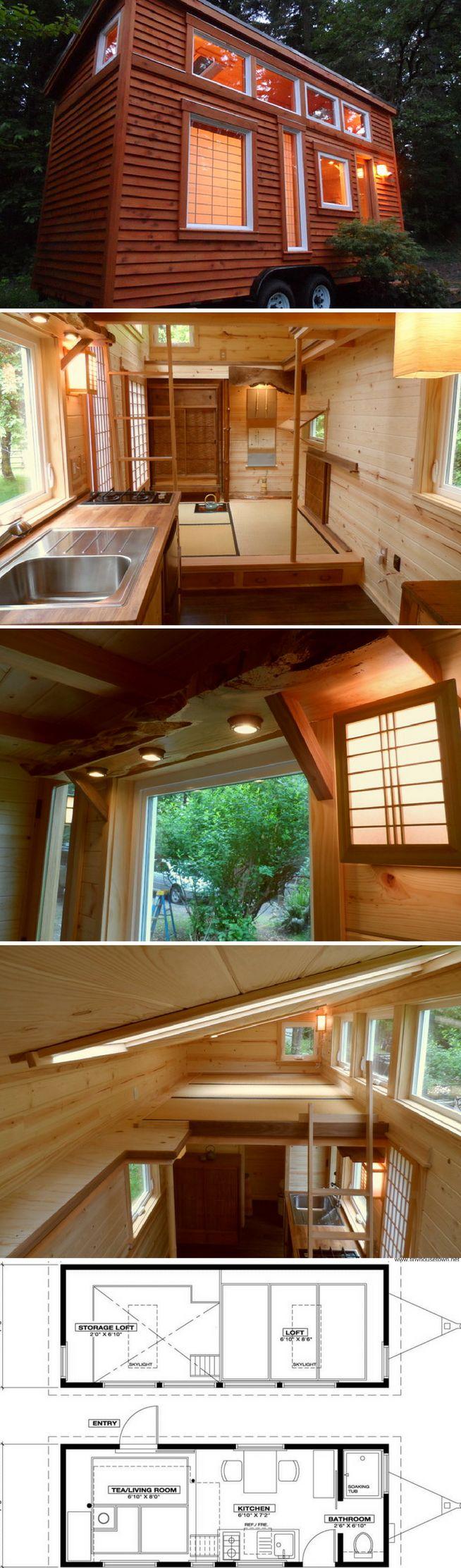 Tiny Tea House Cottage (225 sq ft)