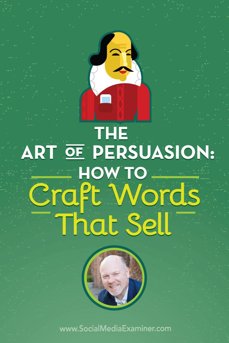 Want to sharpen your copywriting skills? To explore the art of persuasion and why it's important to social marketers, Michael Stelzner interview @rayedwards. Via @smexaminer