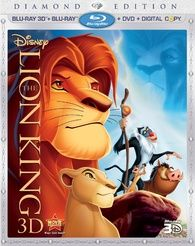 The Lion King 3D (Blu-ray)