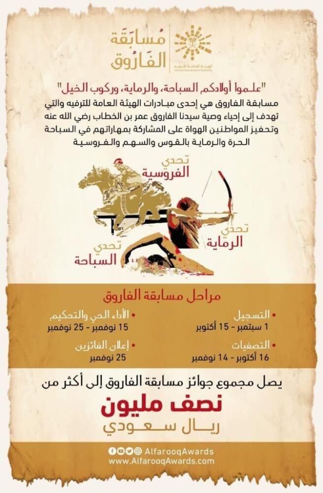 مسابقة الفاروق الترفيهية فاعلية ترفيهية جديدة إحياء لوصية عمر بن الخطاب بالعربي نتعلم Movie Posters Aic Movies