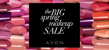 Shop, save and stock up on your Avon makeup faves during our BIG spring makeup SALE! #AvonRep