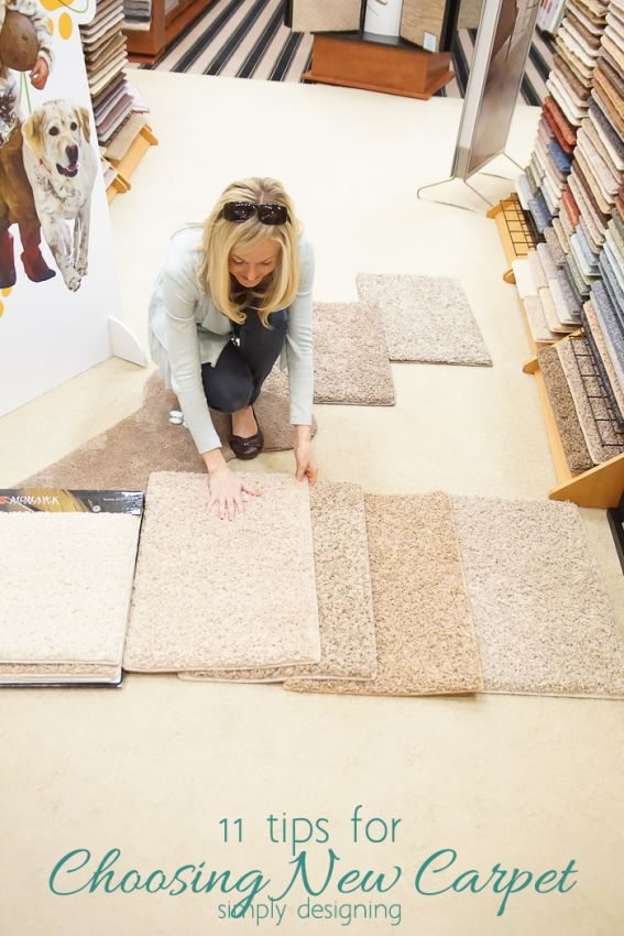 11 Tips for Choosing New Carpet with Simply Designing