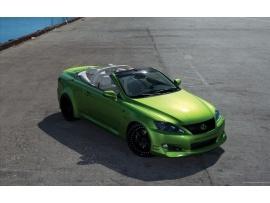 Lexus Cabrio - green, cool!