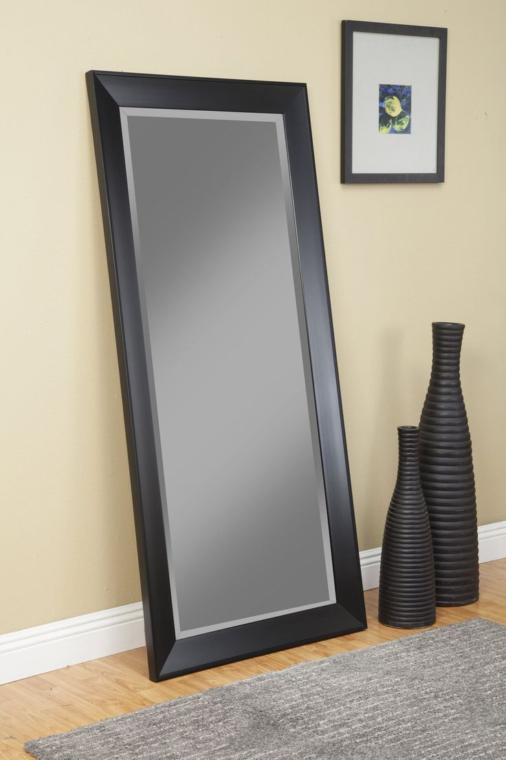 best  contemporary full length mirrors ideas on pinterest  - perkins rectangle floor mirror