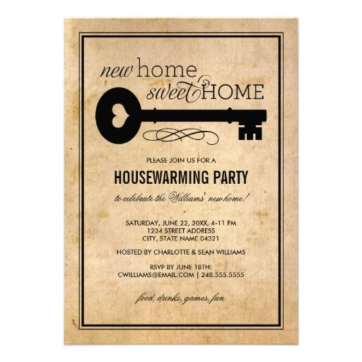 35 best Housewarming Party images on Pinterest Housewarming - best of invitation letter format for housewarming