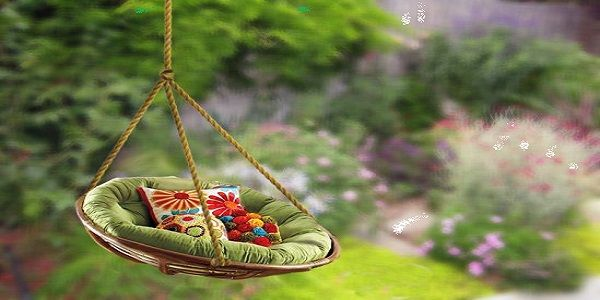 Easy DIY Backyard Landscaping with Tree Swings