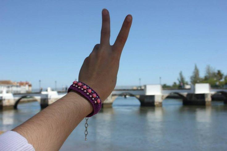 #Movimento_Gipsy em Tavira com a Ponte Romana como fundo.