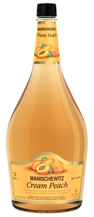 peach manischewitz wine - yummmm!