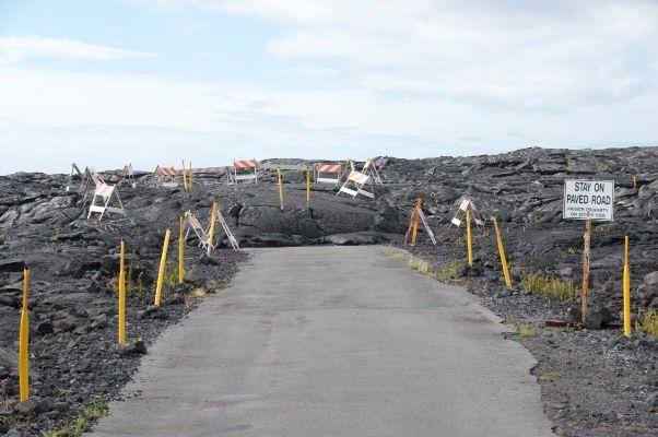 Hawaiian Islands Funny Travel Photos - Volcano Humour! | The Travel Tart Blog