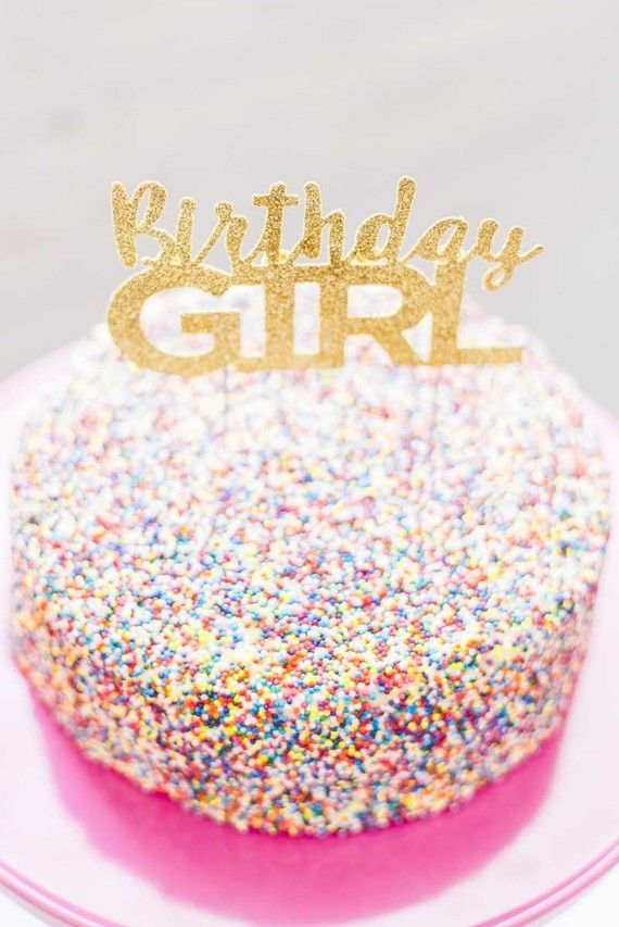 sprinkles birthday cake | Wedding & Party Ideas | 100 Layer Cake