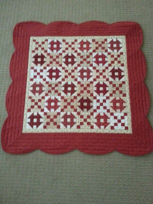 """Sugar and Spice done for Jo Morton's fabric lines called Spice Market and Toasted. It is 33"""" square."""