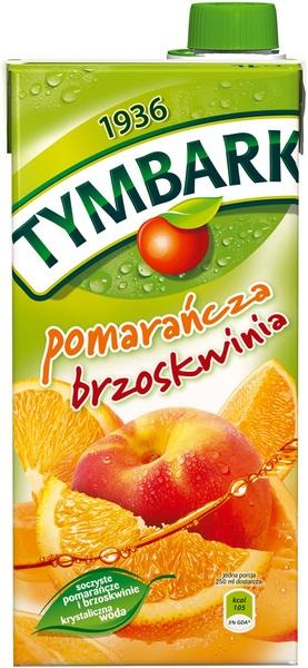 Tymbark Pomarańcza-brzoskwinia