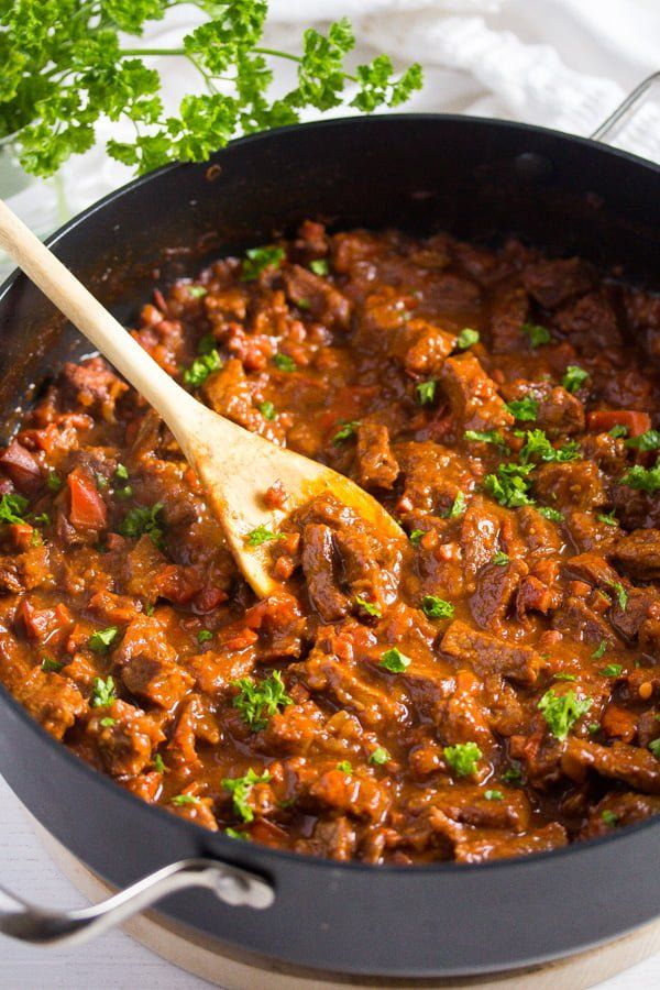 Hungarian Beef Goulash Authentic Hungarian Goulash Recipe Recipe Beef Goulash Goulash Recipes Goulash