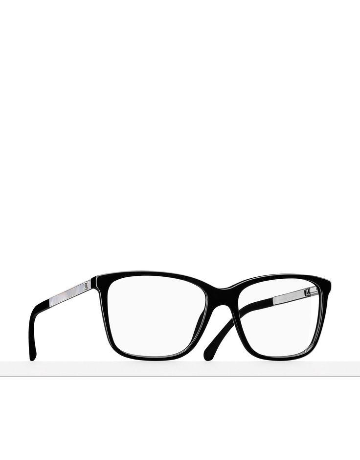 Occhiali da vista con montatura quadrata A75133 X09042 V501Z 3331H C501 - CHANEL