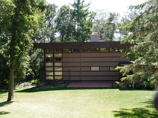 11 best flw u james mcbean images on pinterest for Frank lloyd wright modular homes