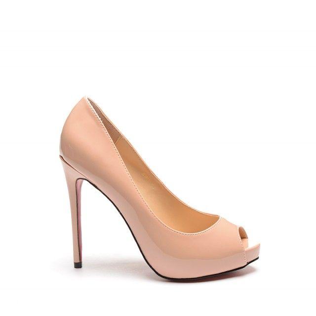 Pantofi Daky Nude (Nude)