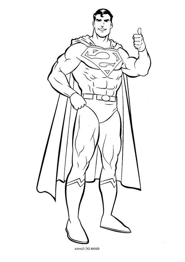13 Nouveau De Superman à Colorier Images | Image coloriage ...