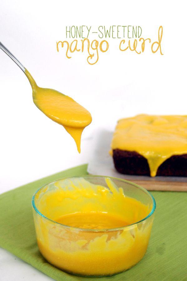 just-making-noise: Honey-sweetened Mango Curd (w/ dairy-free option)