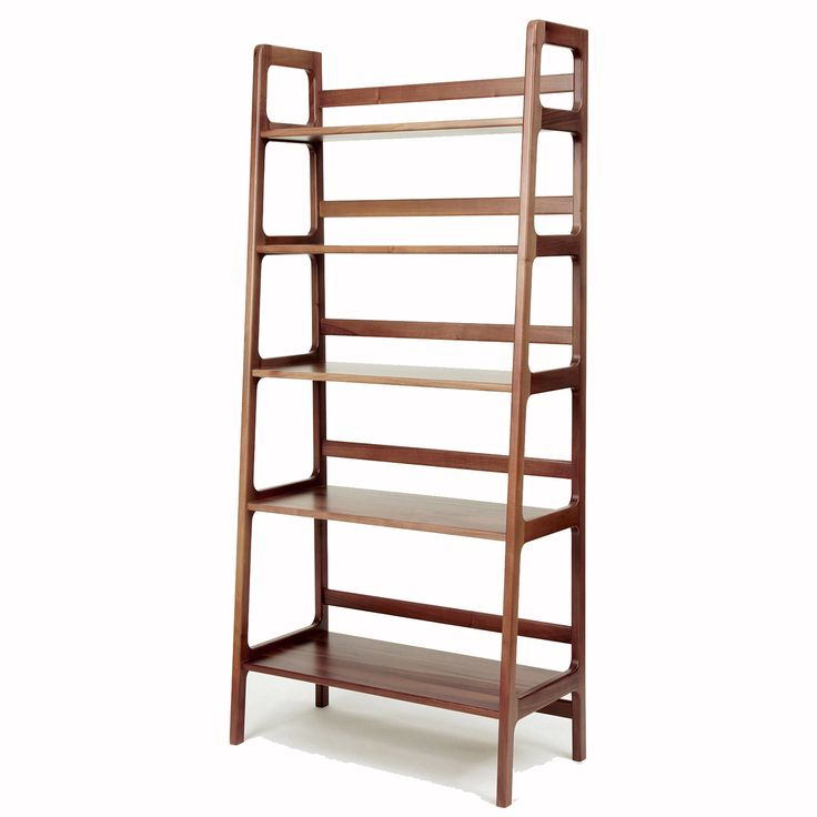 Adnes Tall Shelving Unit - Walnut