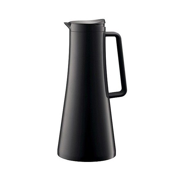 Bodum Bistro Thermo Jug ($35) ❤ liked on Polyvore featuring home, kitchen & dining, serveware, black, iced tea pitcher, bodum, thermo jug, thermal pitcher and thermal jug