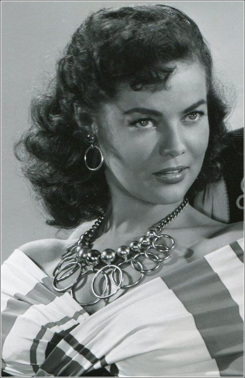 Dona Drake, 1951 wearing Joseff of Hollywood jewelry.  See beautiful pics like this in soon to be released Joseff of Hollywood book...  Pre-order Joseff of Hollywood: Putting the Tinsel in Tinseltown  By Michele Joseff www.joseffofhollywoodbook.com