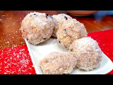 Banana Coconut Balls - YouTube