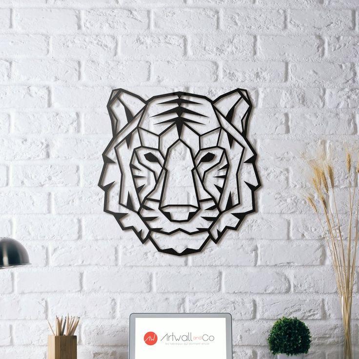 Tigre en décoration murale métallique bientôt disponible sur artwall and co