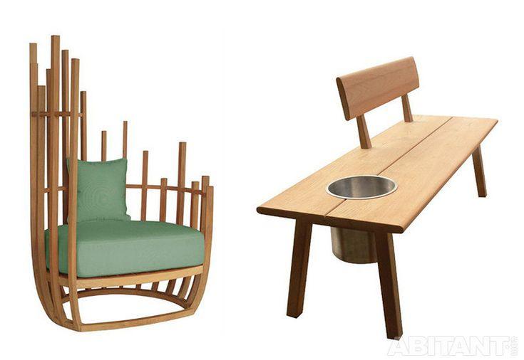 Оригинальная мебель для улицы
