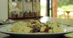 Filé de peixe Panga na manteiga com Arroz de coco - Cheftv Receitas