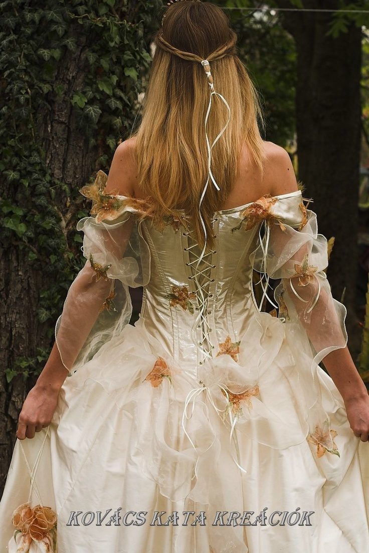 Rococo inspired fairy princess corseted ball or for Fairytale inspired wedding dresses
