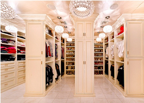 Luxury Walk In Closet 24 best walk-in closet design images on pinterest | walk in closet