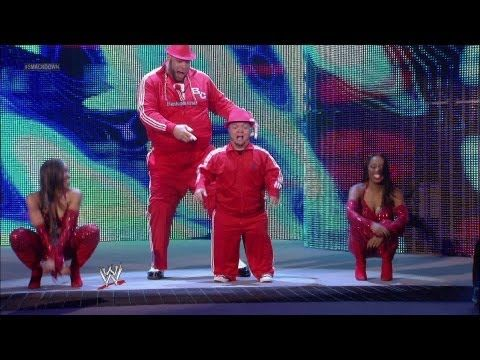 Brodus Clay & Hornswoggle vs. Dolph Ziggler & Jack Swagger: Raw, April 23, 2012 - YouTube