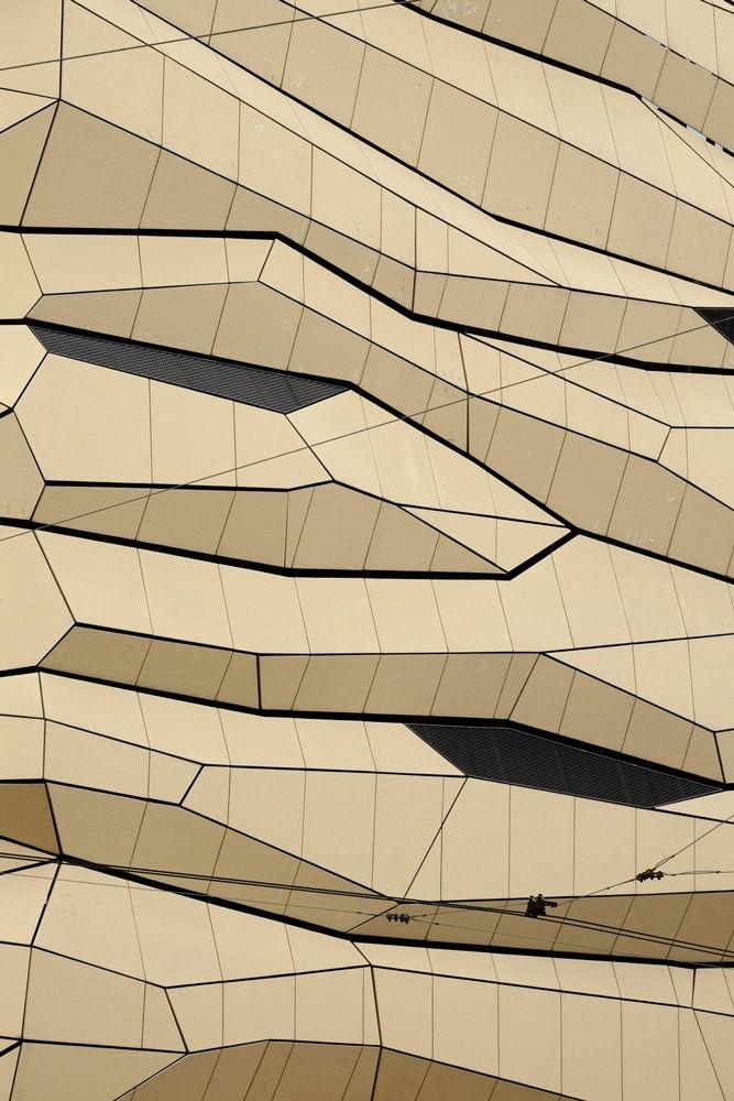 Gold glass exteriors