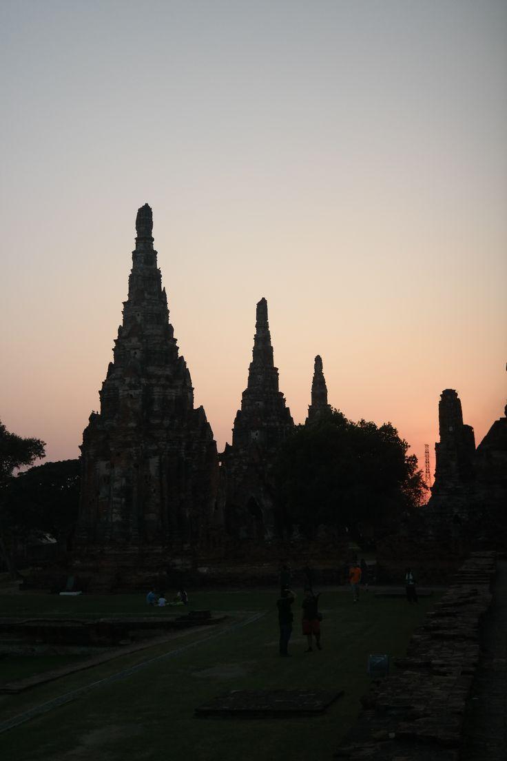 Sunset (Západ slnka), Ayutthaya
