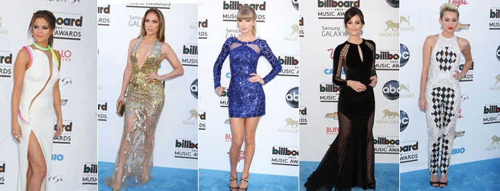All the best gowns from last night's Billboard Music Awards: