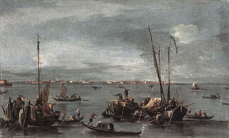 The Lagoon Looking Towards Murano from the Fondamenta Nuova