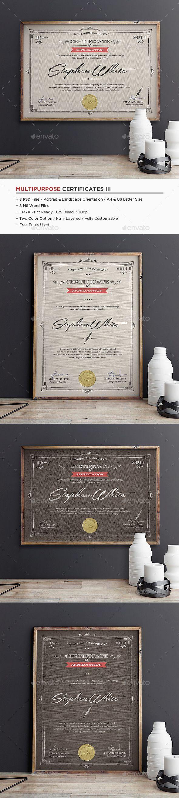 379 best Certificate Design images on Pinterest