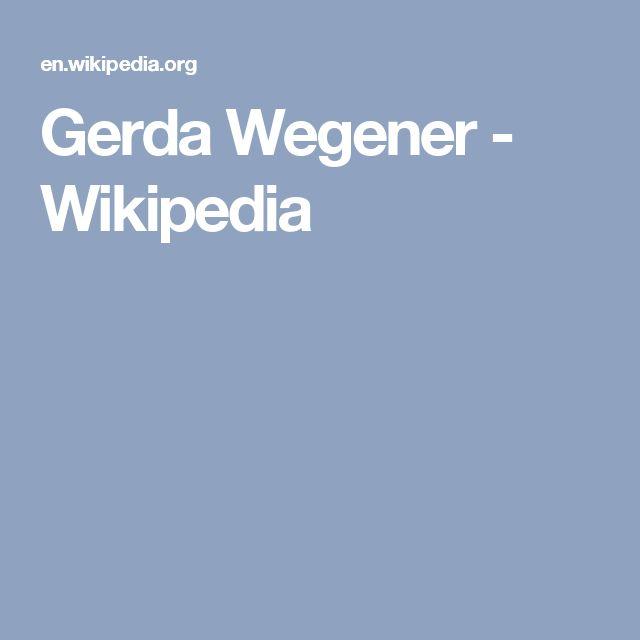 Gerda Wegener - Wikipedia