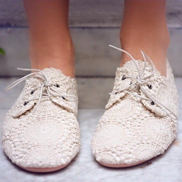 Anniel Soft Shoes Crochet www.annielmoda.com