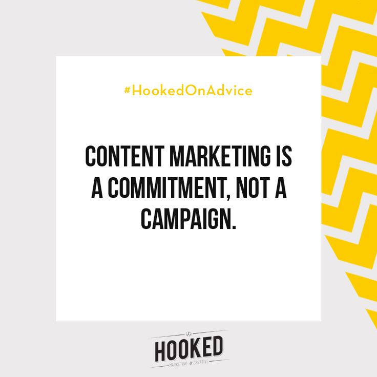 Content Marketing is the art of attracting customers through valuable content. It's not a sales pitch, but you can definitely influence someone's purchase choice through content marketing. Blogs & articles, social media, email newsletters - all of these are great avenues for content marketing, but you need to commit to a strategy and stay consistent! #HookedOnAdvice
