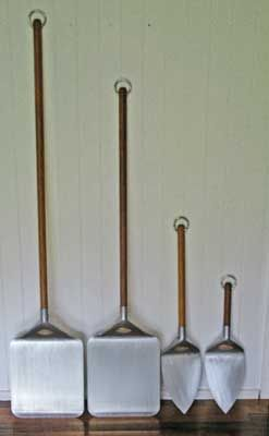 wood fired oven tools - size matters #1